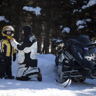 Snowmobile Driver Training